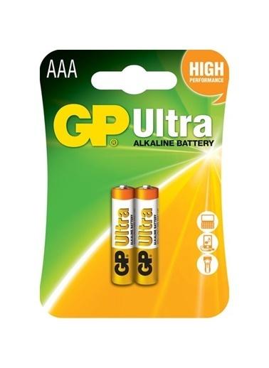 GP Ultra Alkalin Pil AAA İnce Kalem 2'li Paket Renksiz